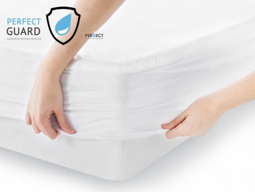 perfectguard waterproof fitted mattress cover
