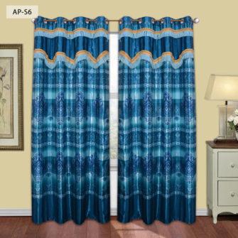 ap s6 silk curtain