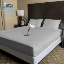 MPZ-03 Zippered Waterproof Mattress Protector Grey