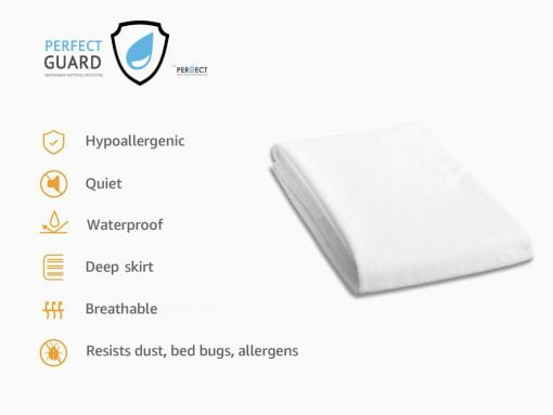 waterproof mattress protector sheet