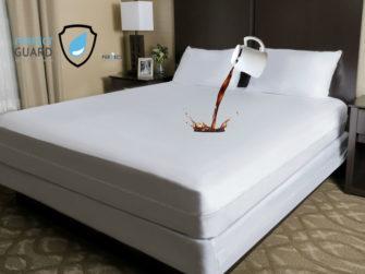 waterproof mattress protector zipper cover