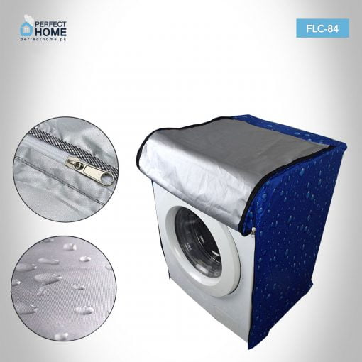 FLC-84 front loader washing machine cover