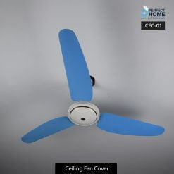 cfc-02 blue ceiling fan cover