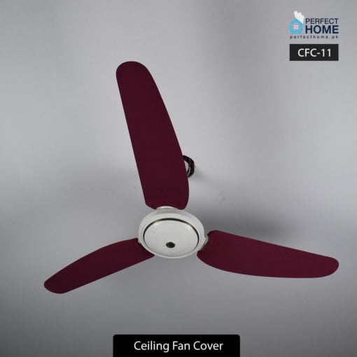 Maroon Ceiling fan cover