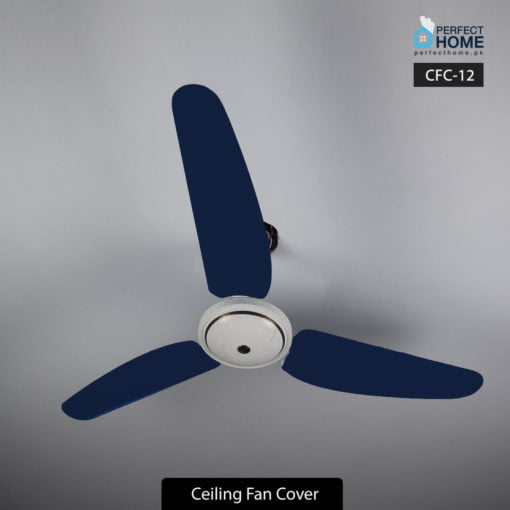 Navy Blue Ceiling Fan Cover