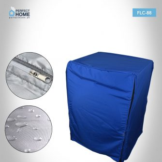 FLC-88 front load washing machine cover closed