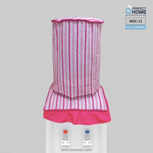 water dispenser cover baby pink WDC-12