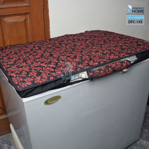 DFC-143 black and red Deep freezer cover