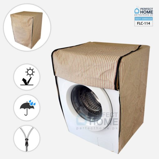 FLC-114 front load washing machine cover