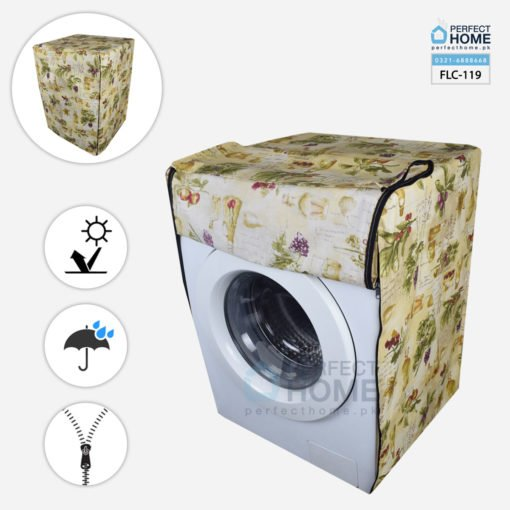 FLC-119 front load washing machine cover