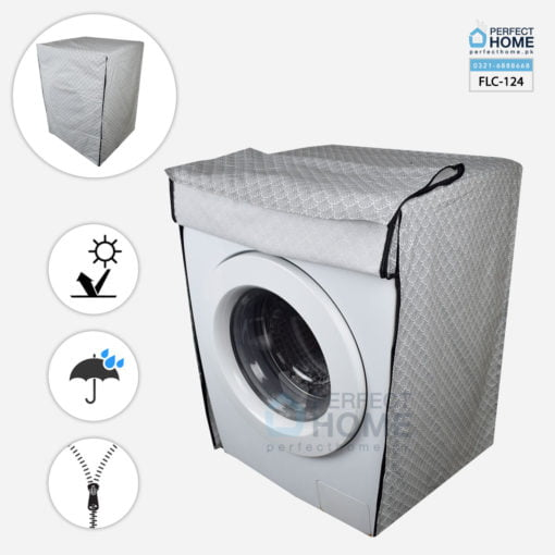 Front load washing machine cover FLC-124