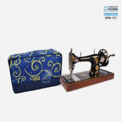 Blue sewing machine cover SEW-157
