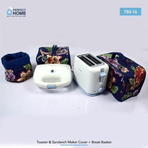 TBS-16 toaster sandwich maker cover bread basket