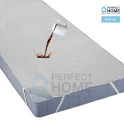 MPS-03 waterproof mattres protector flat sheet grey single