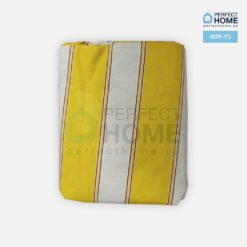 mpf-ys yellow striped mattress protector fitted2