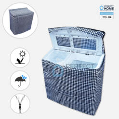 TTC-06 Twin Tub Washing Machine cover waterproof pattern