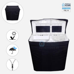 Black Twin Tub washing machine cover TTC-71